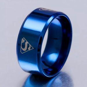 Superman Titanium Ring